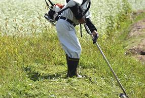 草刈り支援